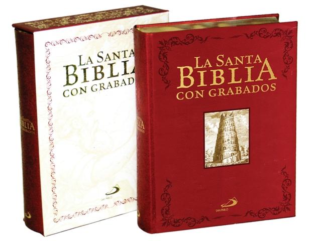 Santa biblia con grabados-0