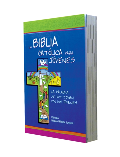Biblia Católica para Jóvenes rústica / blanco y negro s/i-385