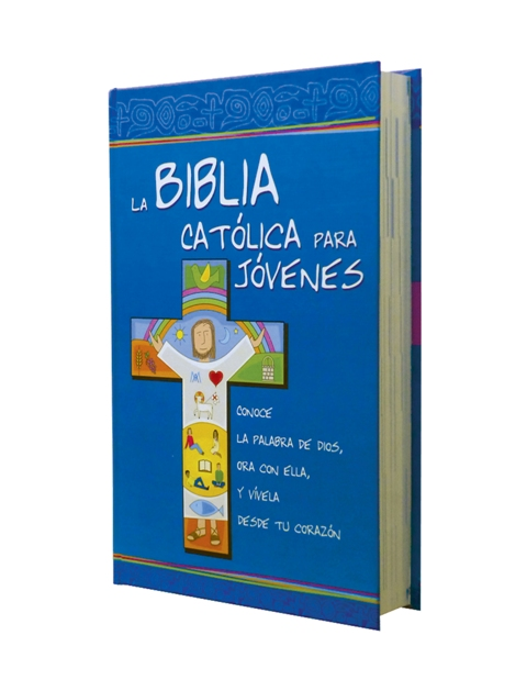 Biblia Católica para Jóvenes cartoné L. G. / 2 tintas c/i-379