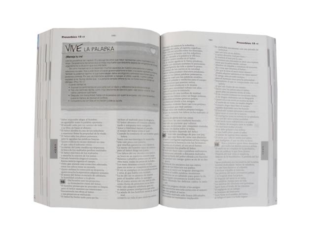 Biblia Católica para Jóvenes rústica / blanco y negro s/i-384