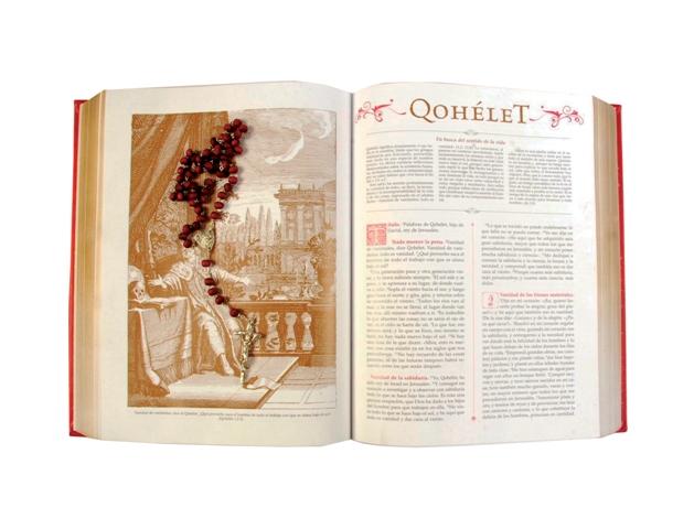 Santa biblia con grabados-354