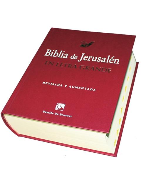 Jerusalén cartoné / letra extra grande c/i-432