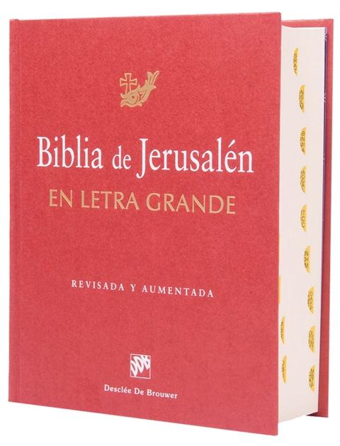 Jerusalén cartoné / letra extra grande c/i-435