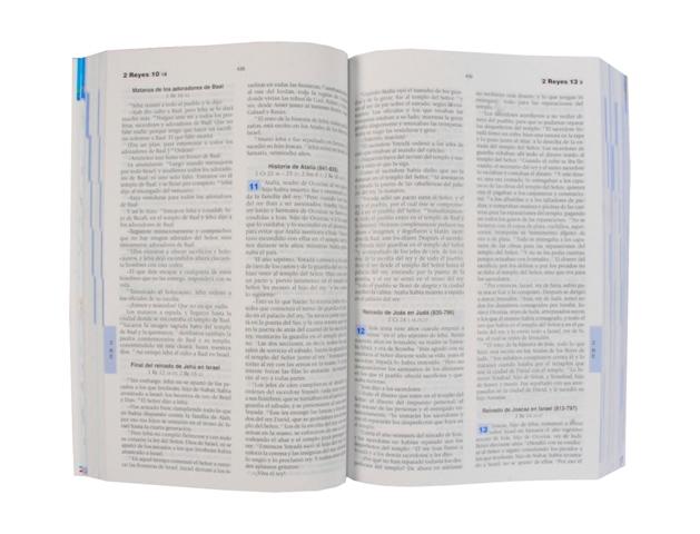 Biblia Católica para Jóvenes cartoné L. G. / 2 tintas c/i-376