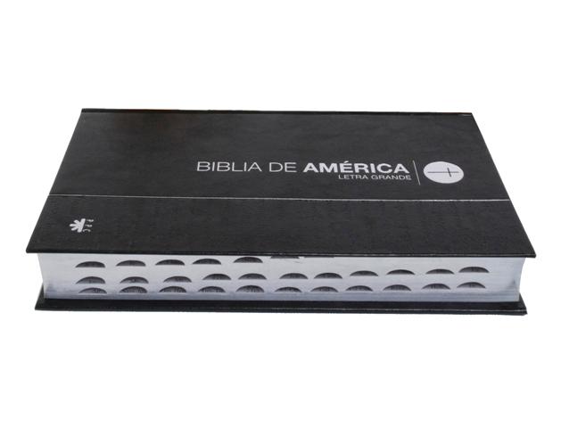 América letra grande / cartoné canto plateado c/i-356