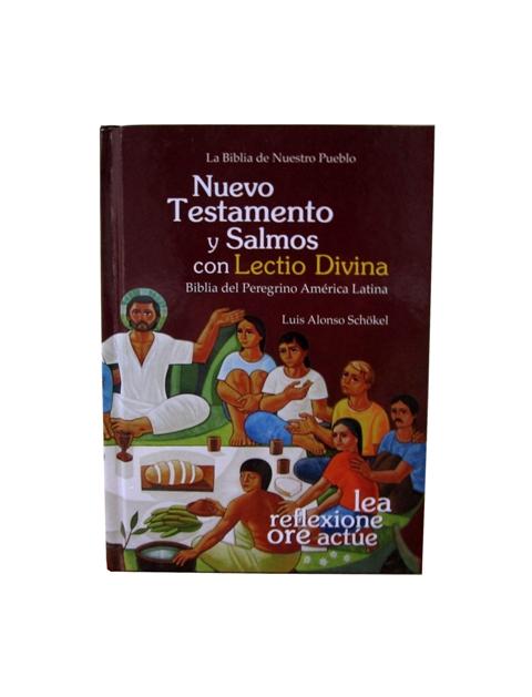 Nuevo Testamento y Salmos Cartoné, s/i y Lectio Divina-336
