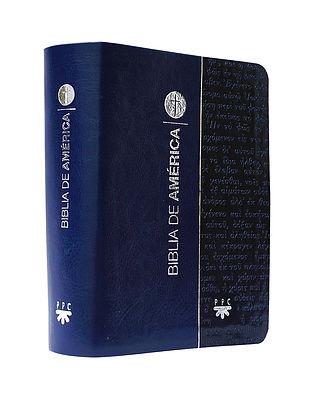 América bolsillo / flexible azul, letra grande -777