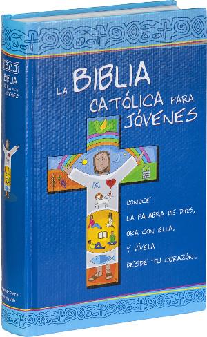 Biblia Católica Para Jóvenes Cartoné Junior 2 Tintas c/i-725